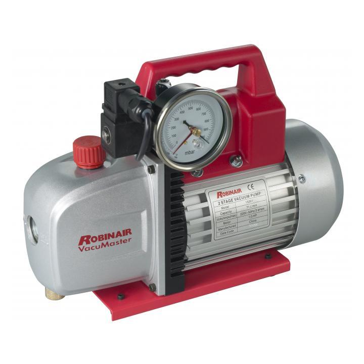 Robinair 15301 71 LPM vacuum pump photo