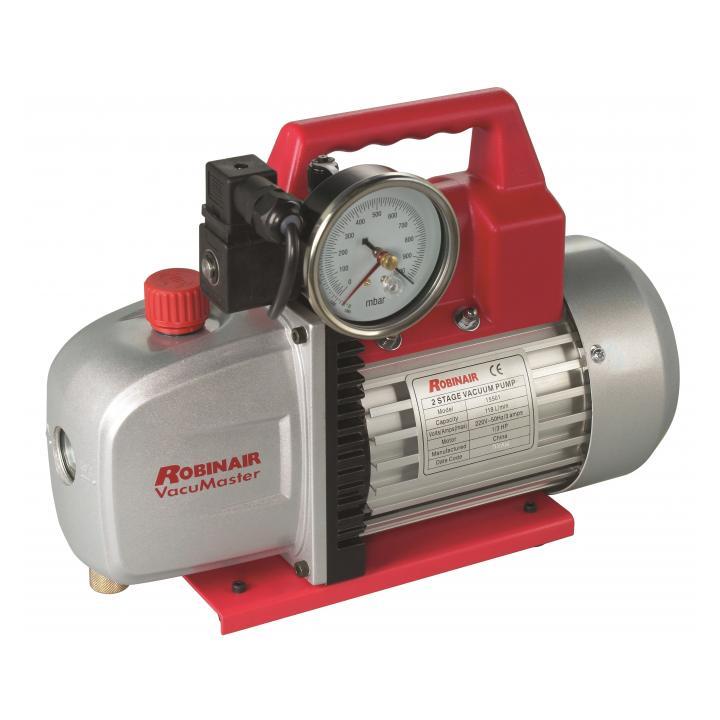 Robinair 15501 118 LPM vacuum pump photo